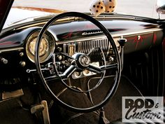 1950 Chevy Fleetline Steering Wheel