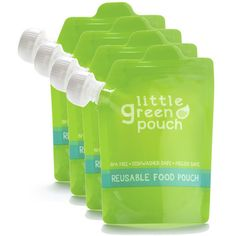 Little Green Pouch- 4 Pack