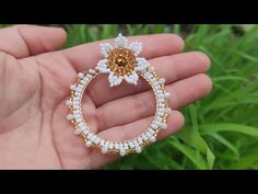 Seed Bead Earrings, Beaded Earrings, Seed Beads, Beaded Jewelry, Hoop Earrings, Jewellery, Brick Stitch, Simple Jewelry, Designer Earrings