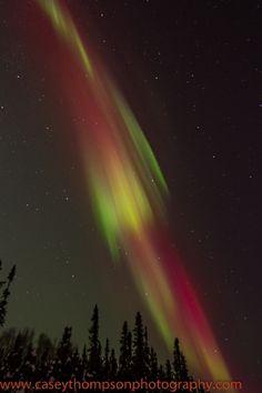 Aurora Borealis -  Taken by Casey Thompson on December 6, 2013 @ Fairbanks, AK