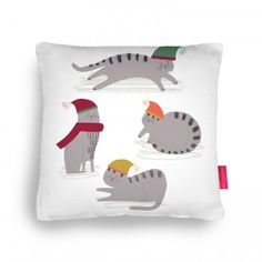 Playful Cats Cushion