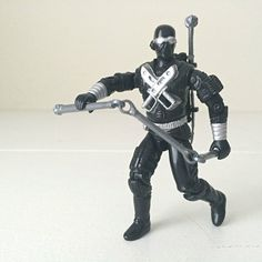 Image result for 1986 snake eyes gi joe action figure
