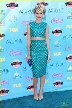 Chelsea Kane at the Teen Choice Awards 2013