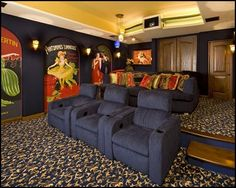 35 Modern Media Room Designs That Will Blow You Away | Media Room Design,  Small Spaces And Living Rooms