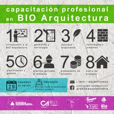 Capacitación profesional en Bio Arquitectura – ARQA