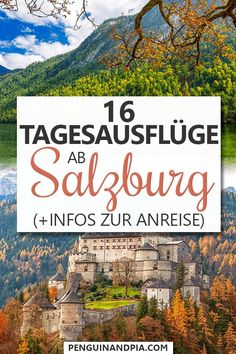 Looking for great day trips from Salzburg, Austria? In this article, we share 16 day trip ideas and info for how to get there! From castles to lakes and cities with beautiful old towns, there is something for everyone. Croatia Travel, Spain Travel, Hawaii Travel, Thailand Travel, Bangkok Thailand, Italy Travel, Visit Austria, Austria Travel, European Destination