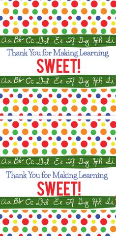 Free Printable Teacher Appreciation Candy Wrapper