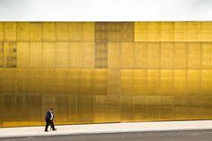 Platform of Arts and Creativity by Pitagoras Arquitectos; photo by Joao Morgado Guimarães-based architectural practice Pitagoras Arquitectos have Architecture Design, Contemporary Architecture, Architecture Today, Museum Architecture, The Plan, Urban Fabric, Portugal, Building Facade, Urban Landscape