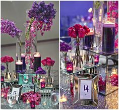 Modern Real Wedding with Tons of SPARKLE!   OneWed