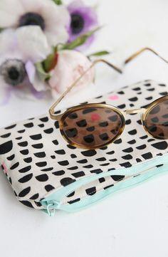 mein feenstaub – DIY, Deko, Design: {DIY} Gefüttertes Sonnenbrillen-Etui