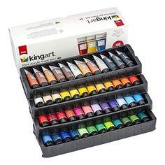 Acrylic Paint Set, Acrylic Colors, Metallic Colors, School Supplies, Craft Supplies, Paint Supplies, Professional Art Supplies, Learning Colors, Unique Colors