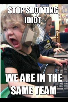 Pretty much how I feel when playing Hardcore on Call of Duty.
