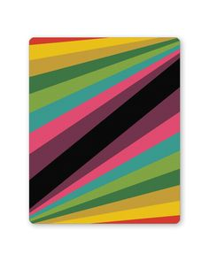 Abstract Art Pattern Multicolored Mouse Pad