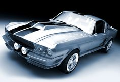 Elanor. The 1967 Ford Mustang Shelby GT500