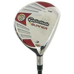 Taylormade Golf Clubs Burner Steel 15 3 Fairway Wood Stiff Graphite Value
