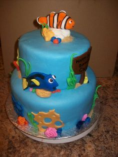 Nemo and Dory cake | Flickr - Photo Sharing!
