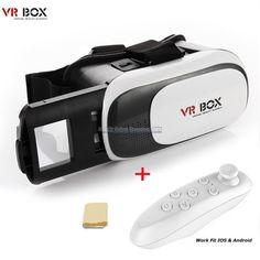 83cbe8fc92bf Virtual 3D VR Video Glasses Reality Portable Goggles HD Smartphone Vision  Helmet