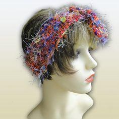 Unique Luxury Headband - Razzamatazz, Paradis Terrestre - Luxury British Made Accessories & Homeware Modern Hippie, Handmade Headbands, Unique Cards, Paradis, Captain Hat, Greeting Cards, British, Crochet Hats, Retro