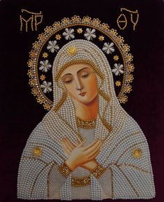 Blessed Virgin Mary, ever virgin, conceived without sin, pray for us who have recourse to thee. Blessed Mother Mary, Divine Mother, Blessed Virgin Mary, Religious Images, Religious Icons, Religious Art, Religious Cross Stitch Patterns, Hail Holy Queen, Virgen De Guadalupe