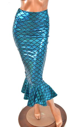 #Coquetry Clothing        #Skirt                    #Turquoise #Dragon #Scale #Bodycon #Mermaid #Wiggle #Skirt                    Turquoise Dragon Scale Bodycon Mermaid Wiggle Skirt                           http://www.seapai.com/product.aspx?PID=963320