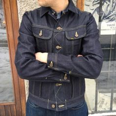 Lee 101 Rider Jacket 12oz When it comes to denim jackets, this is as iconic as it gets!