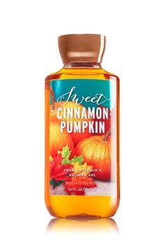 Sweet Cinnamon Pumpkin Shower Gel - A fall favorite blend of heirloom pumpkin, autumn cinnamon & ginger snap