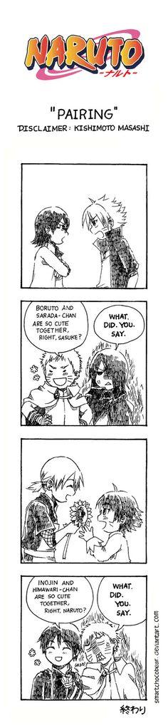 Naruto Doujinshi - Pairing by SmartChocoBear