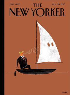 David Plunkert #illustration #kkk #hate #trump #newyorker
