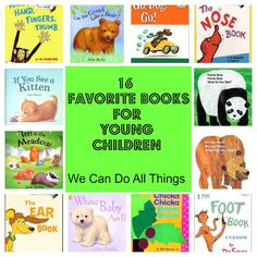 we can do all things- 16 Favorite Books For Young Children
