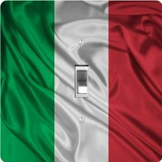 "Rikki KnightTM Italy Flag - Single Toggle Light Switch Cover by Rikki Knight. $13.99. 5""x 5""x 0.18"". Glossy Finish. For use on Walls (screws not included). Washable. Masonite Hardboard Material. The Italy Flag single toggle light switch cover is made of commercial vibrant quality masonite Hardboard that is cut into 5"" Square with 1'8"" thick material. The Beautiful Art Photo Reproduction is printed directly into the switch plate and not decoupaged which make the..."