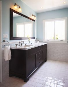 Bathroom Double Vanity Design, Pictures, Remodel, Decor and Ideas