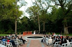 Newton White Mansion Wedding Ceremony Photography by Photojournalist Rich Dutchman - RichDutchmanPhotography.com.