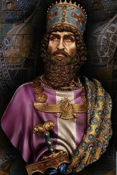 KHASHAYARSHA (XERXES), Persian King 480 bC. | farvahar in ...