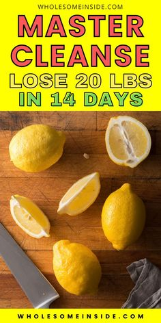 Are you looking for a simple diet plan that can help you lose 20 lbs in just 2 weeks of time? You're going to love the lemon detox diet!