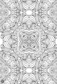 69 besten kleurplaten volwassenen Bilder auf Pinterest | Mandala ...