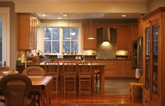 mix of tile backsplash and counter Custom Kitchen - traditional - kitchen - other metro - Kimberly Arnold Fletcher