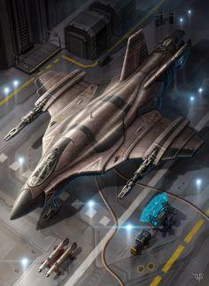 Combat Fighter by LeonovichDmitriy.deviantart.com on @DeviantArt
