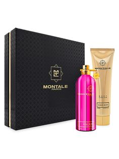 Montale Limited Edition Roses Musk Gift Set | SaksFifthAvenue Perfume Scents, Fragrance, Roses, Cleaning, Cream, Jasmine, Amber, Gifts, Smooth