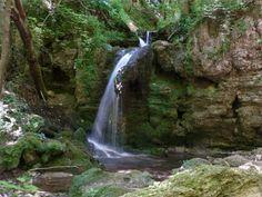 Hajske waterfalls, Slovak Karst National Park, National Parks of Slovakia