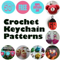 50+ Free Crochet Keychain Patterns
