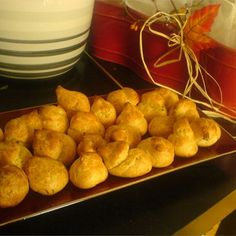 """Cheese Puffs (Gougeres) I """"These were amazing!!! I used half of the chill and cayenne powders that the original recipe called for and it was just wonderful."""""""