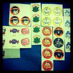 Retro Scratch N Sniff Stickers 80's