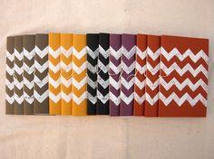 chevron pattern notebooks