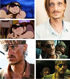 """The Last Unicorn"" live action fancast: Mackenzie Crook as Rukh (courtesy of theboyfallsfromthesky.tumblr.com)"