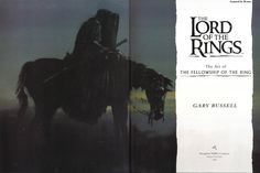 The Art of The Fellowship of The Ring, Garry Russell – 103 фотографии