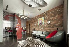 терриротия поп-арт - Лучший декор комнаты | PINWIN - конкурсы для архитекторов, дизайнеров, декораторов