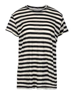 Proenza Schouler Striped T-Shirt - Vacation Packing Guide: What to Bring for Every Destination http://www.harpersbazaar.com/fashion/fashion-articles/summer-vacation-packing-guide