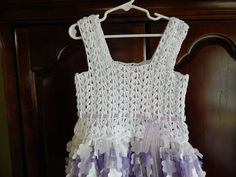 Blusa para Vestido 8 a 10 años Crochet - YouTube