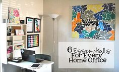6 Essentials For Every Home Office + a $200 SkyMall Gift Card Giveaway! |Lauren Paints | a beautiful life