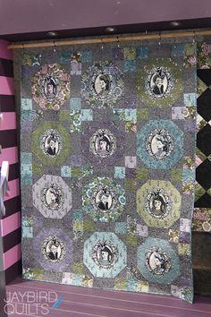 Tula Pink's Nightshade fabric line